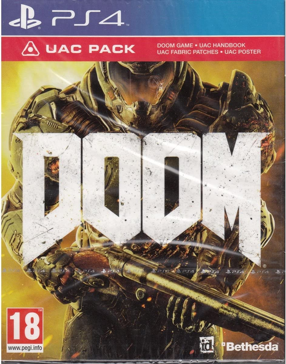Doom - UAC Pack Edition (PS4) (New): Amazon.es: Videojuegos