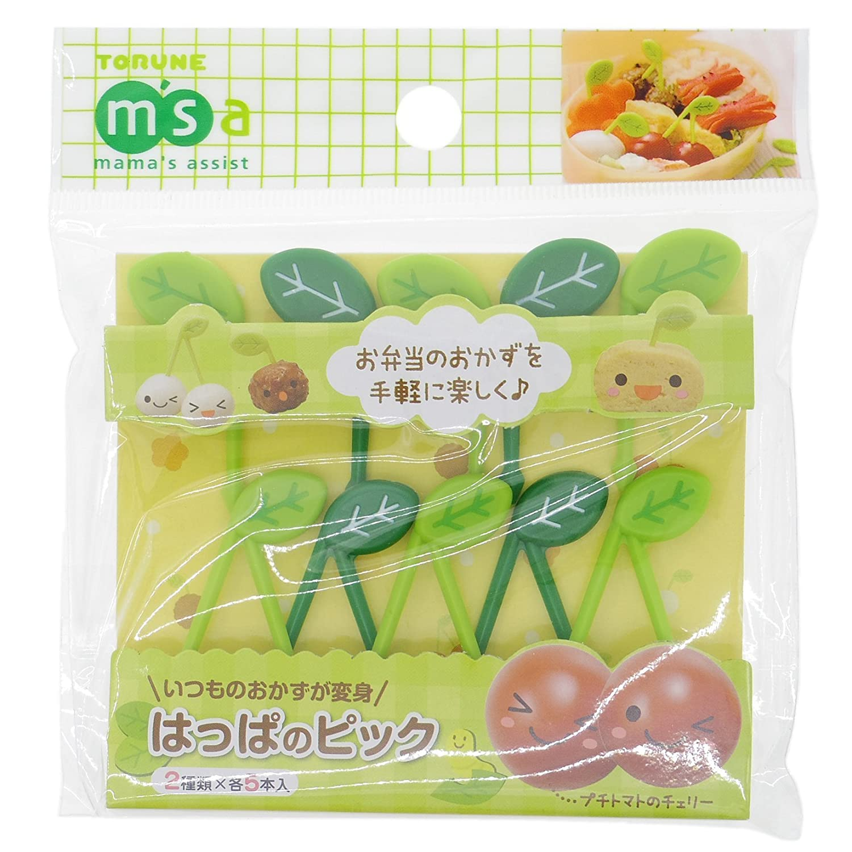 Torune Leaf Pick 10pcs P-2759 (Japan Import)