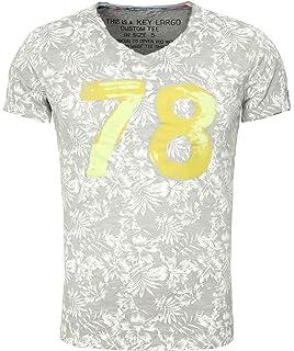 ... Captain mit Anker Print Motiv Vintage Look Tiefer Rundhals Ausschnitt…  3,5 von 5 Sternen 2 · EUR 19,79 - EUR 29,95 · Key Largo Herren T-Shirt MT  Palm ... 9f5f84f874