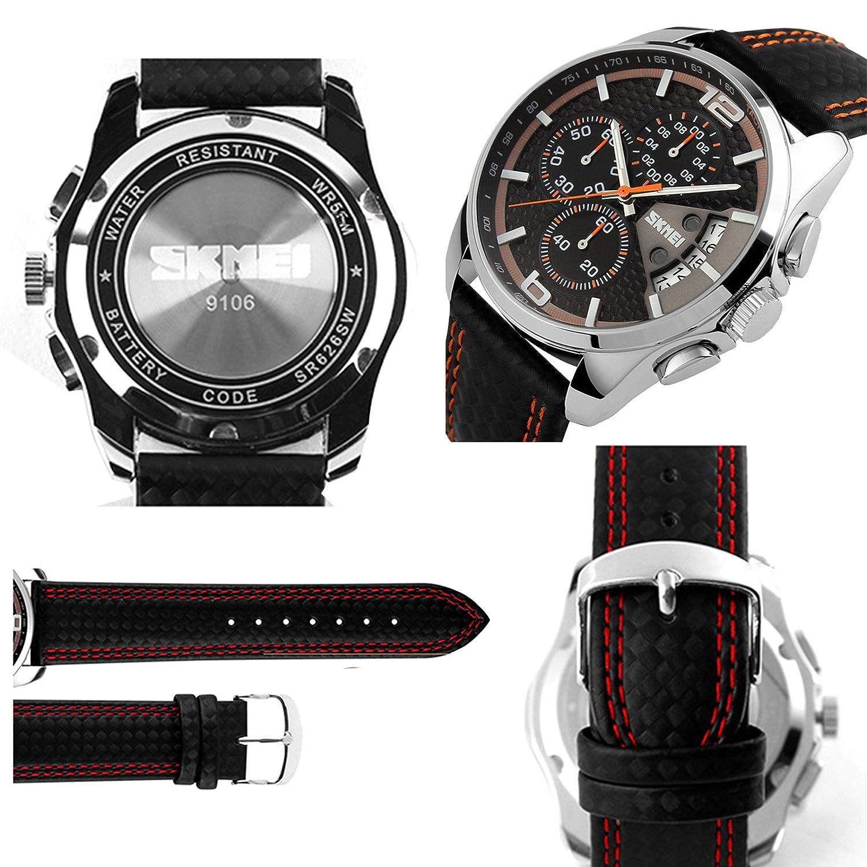 Amazon.com: Relojes de Hombre Sport LED Digital Military Water Resistant Watch Digital Men RE0026: Watches