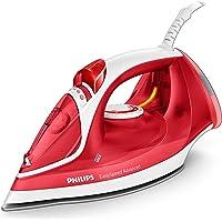 Philips EasySpeed Advanced gc2672/40Fer à Repasser de Vapeur, 2300W, 35g/min vapeur continu, réservoir d'eau de 300ml, en céramique, couleur rouge