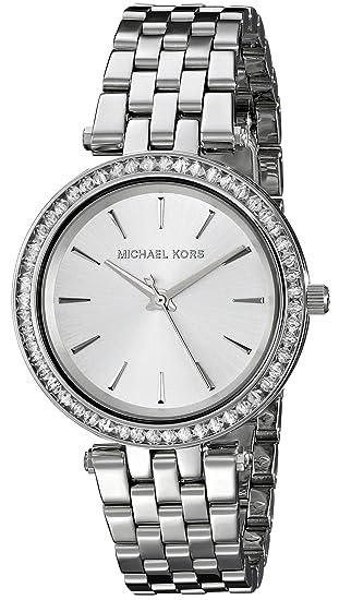Michael Kors Reloj analogico para Mujer de Cuarzo con Correa en Acero Inoxidable MK3364: Michael Kors: Amazon.es: Relojes