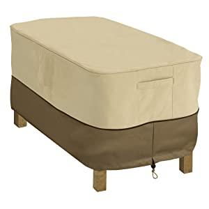 Classic Accessories Veranda Rectangular Patio Coffee Table Cover