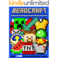 Beadcraft: The Ultimate Minecraft-themed Fusion Bead Pattern Collection (English Edition)
