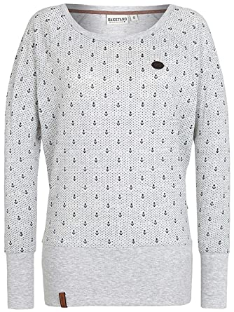 Naketano Damen Sweater Hodenschmerzen II Sweater  Amazon.de  Bekleidung f2915229eb