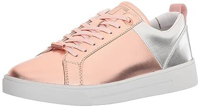 df650e1100341 Ted Baker Women s KULEI LTHR AF Rose Gold Silver Sneaker