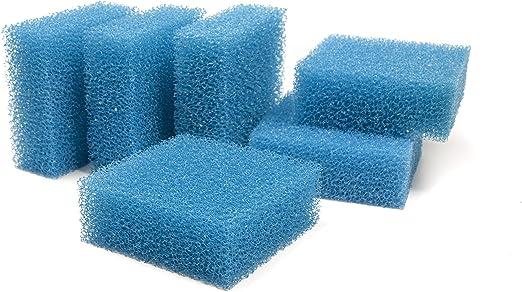 Genérico - Esponja de filtrado grueso, estera de filtrado - Juwel Standard / BioFlow 6.0(6 unidades): Amazon.es: Hogar