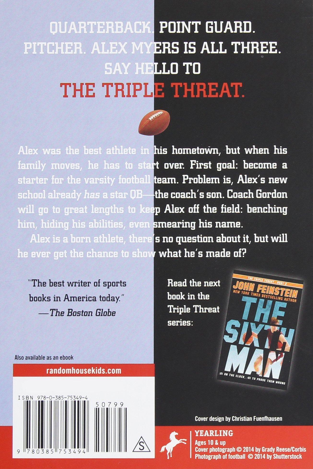 The Walk On (the Triple Threat, 1): John Feinstein: 9780385753494:  Amazon: Books