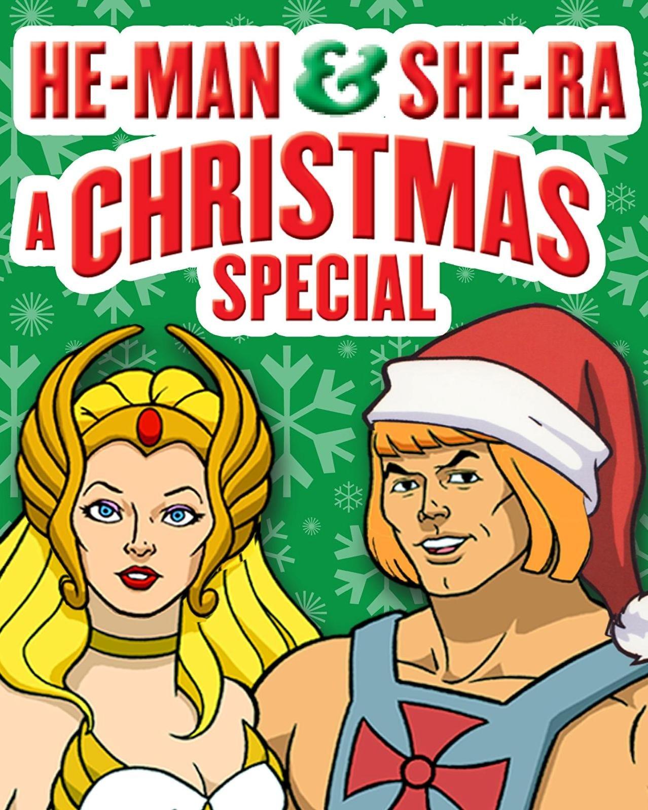 Amazon.com: He-Man & She-Ra: A Christmas Special: Ernie Schmidt ...