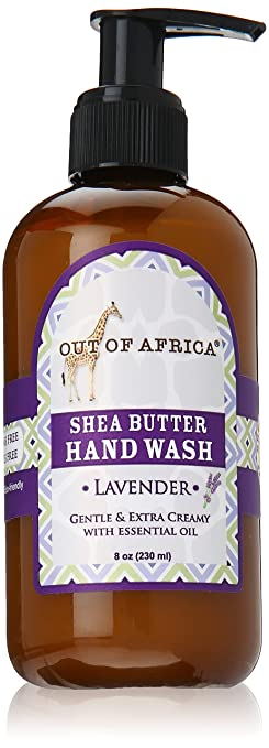 Out Of Africa Lavender Shea Butter Hand Wash, 8 Ounce Bottles