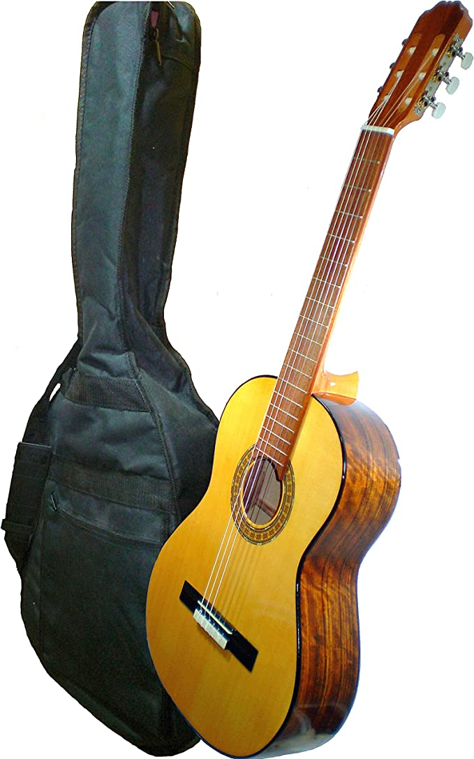 MARCE ANA - Guitarra Clasica española de estudio + Funda (caja ...