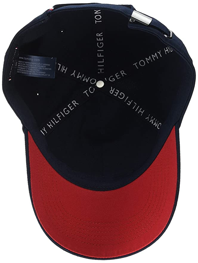Tommy Hilfiger H Embroidered Mens Cap Blue at Amazon Mens Clothing store: