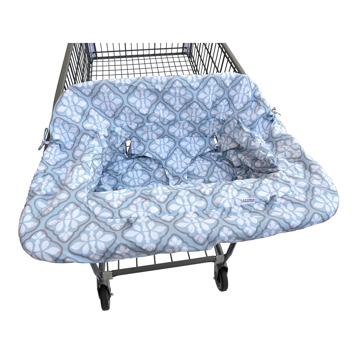 JJ Cole Shopping Cart Cover, Blue Iris J00579