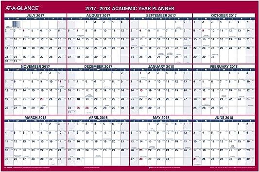 At A Glance Calendar 2021 Amazon.: AT A GLANCE Wall Calendar, Academic/Regular Year, 36