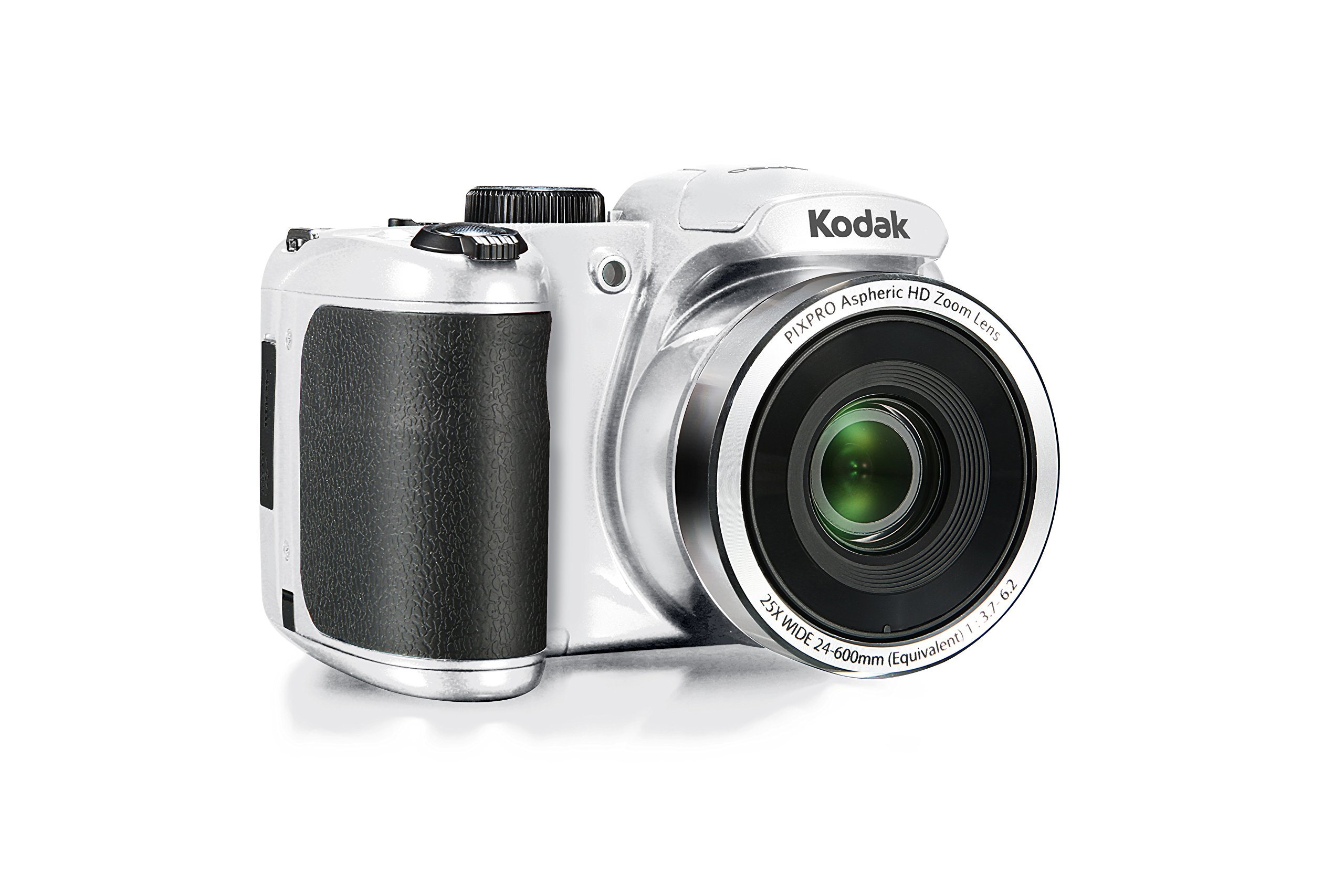 Kodak PIXPRO Astro Zoom AZ252-WH 16MP Digital Camera with 25X Optical Zoom and 3'' LCD (White) by KODAK
