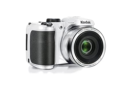 "Review Kodak PIXPRO AZ252 Point & Shoot Digital Camera with 3"" LCD, White"