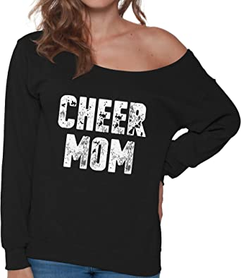 Cheer Mom Womens Slouchy Tee Shirt