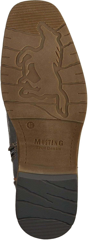 Mustang Herren Stiefel Grau gefüttert Grau Grau Stiefel (Graphit 259) c094a2