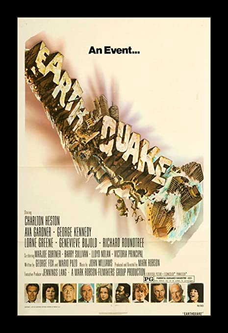 Amazon.com: Wallspace Earthquake - 11x17 Framed Movie Poster: Posters &  Prints