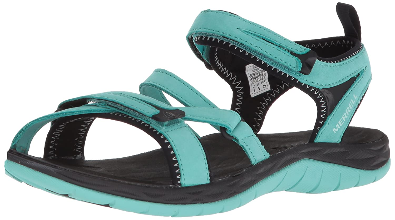 Merrell Women's Siren Strap Q2 Athletic Sandal B071Z934RM 6 B(M) US|Turquoise