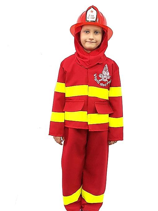 novità vestiti carnevale travestimento maschera cosplay halloween gioco  personaggio film pompiere vigile del fuoco fire sam 7650d32b993a