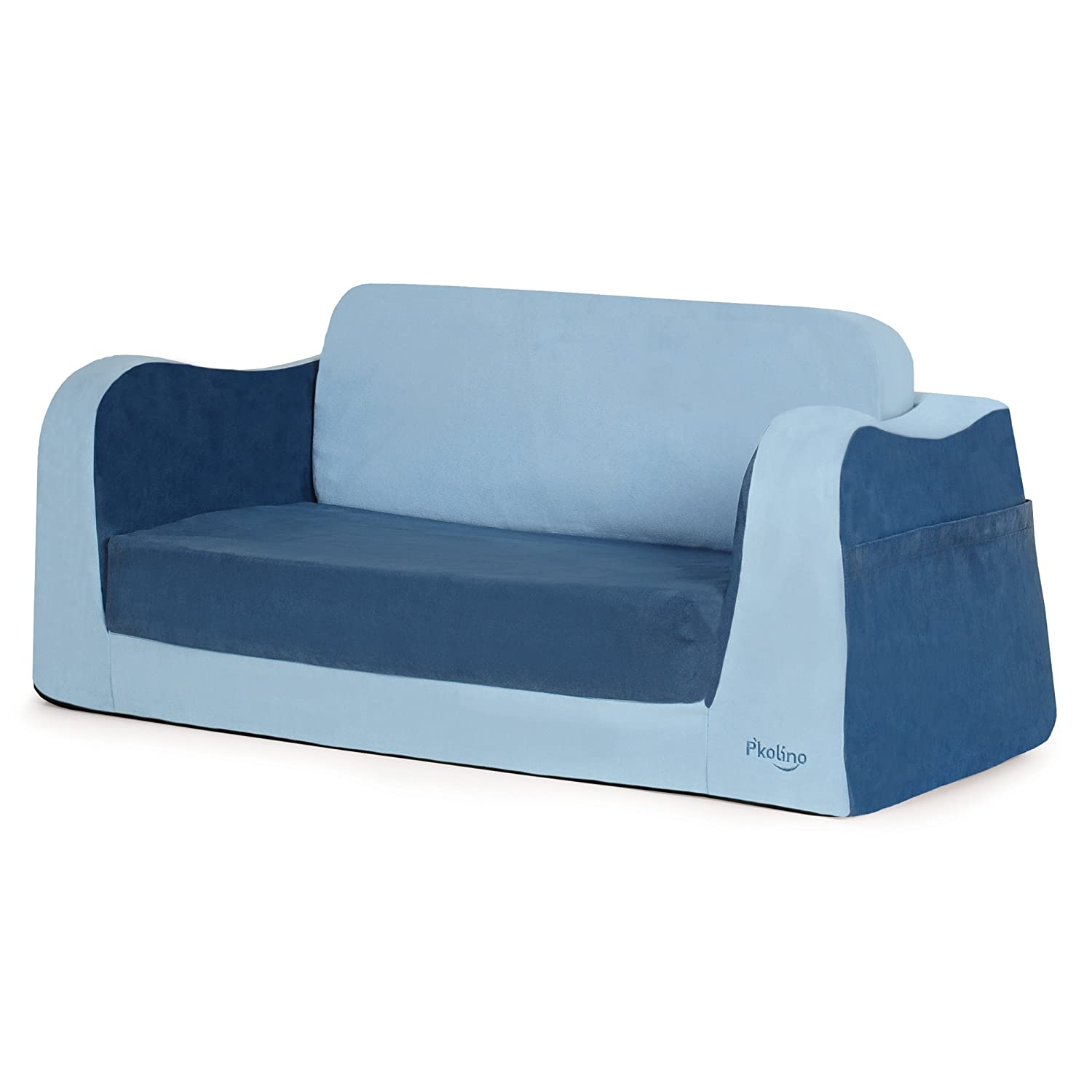 Amazoncom Pkolino Little Sofa Sleeper in Blue Baby