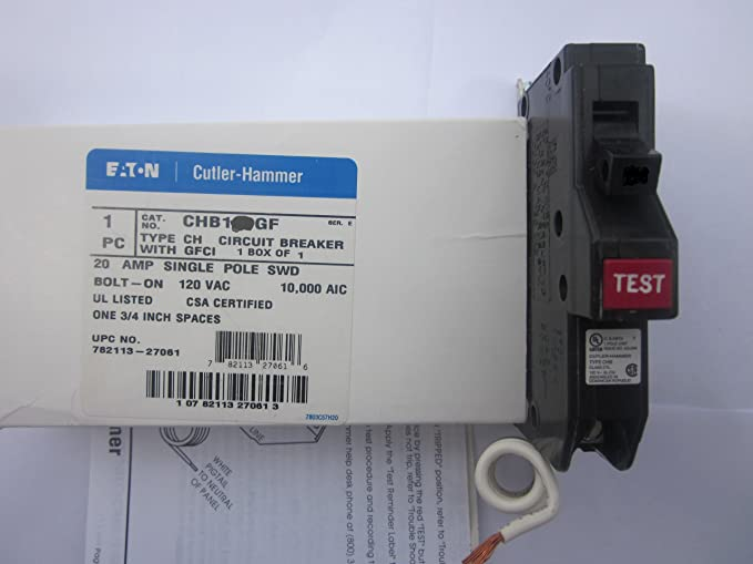 NEW Cutler Hammer CH230GFT 30 Amp 2 Pole Ground Fault GFCI Eaton Circuit Breaker
