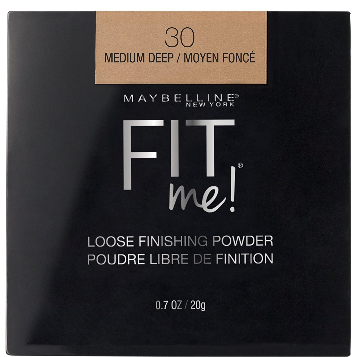 Maybelline New York Fit Me Loose Finishing Powder, Deep, 0.7 Oz