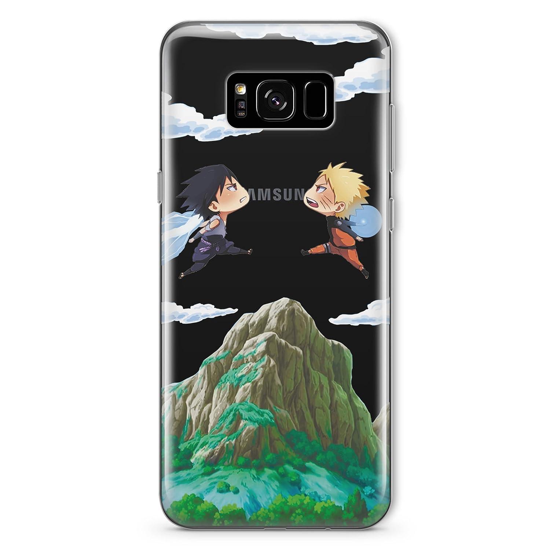 Naruto Uzumaki vs Sasuke Samsung Galaxy S7 Manga Shippuden Sage Sharingan Cell Phone Case for Samsung Galaxy S7 Fandom Cases Cover MA1300
