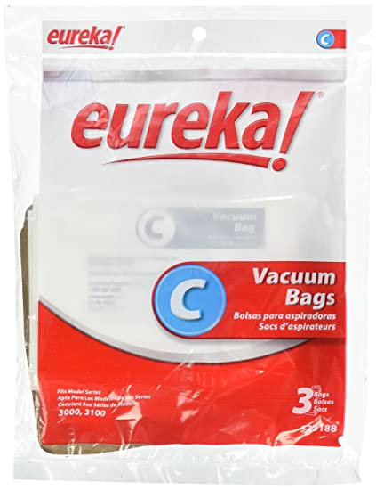 Eureka EUR Style C Mighty Mite 3100 Series Paper Bag (Pack of 3)