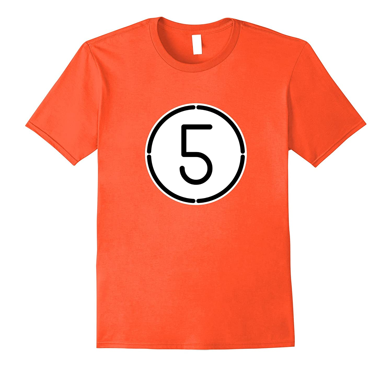 5 Ball Pool Funny Halloween Group Costume Gift T-Shirt-ANZ