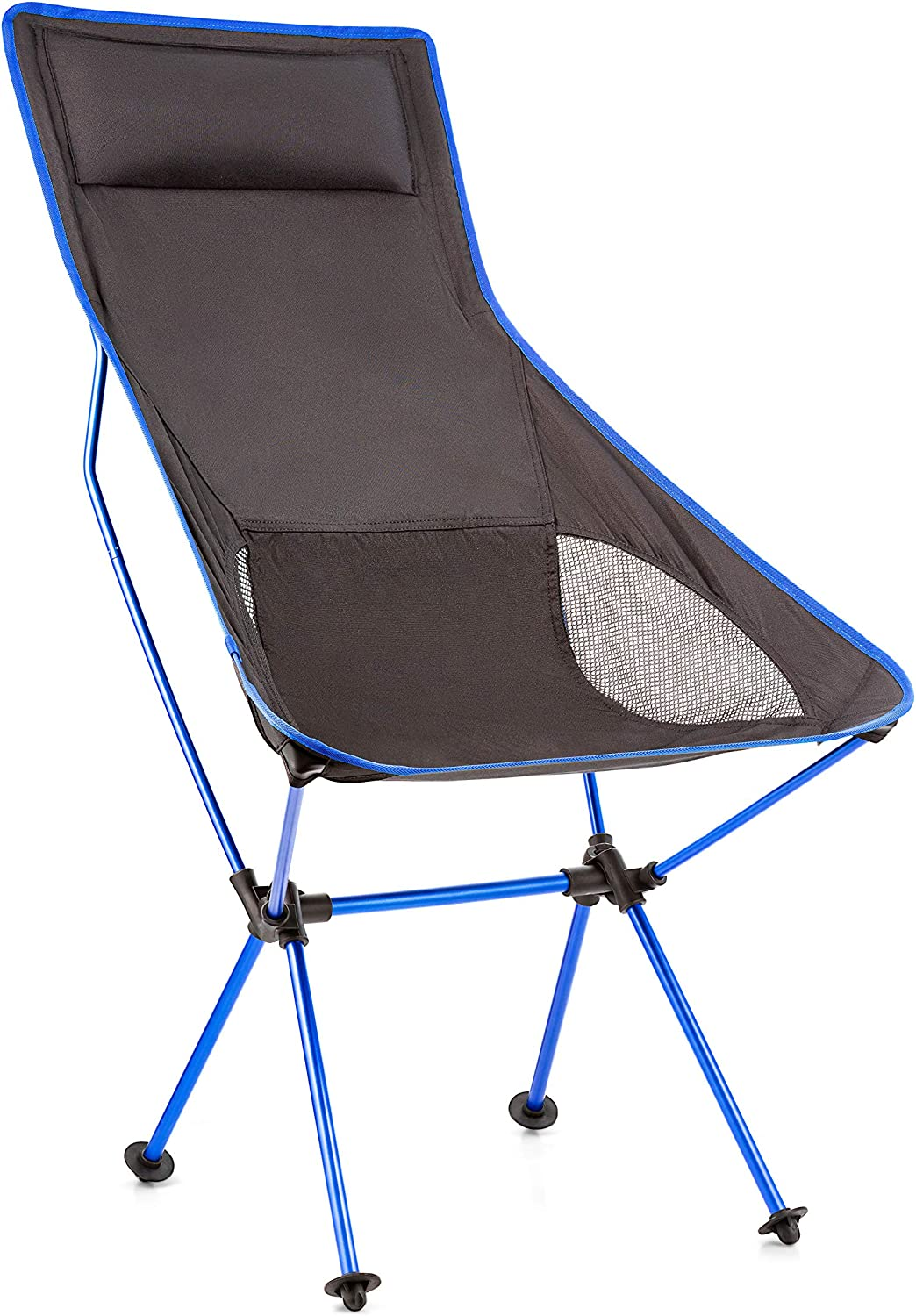 Wealers Ultralight Portable Folding Outdoor Camping Chair for Hiking Picnic Fishing with Carry Storage Bag