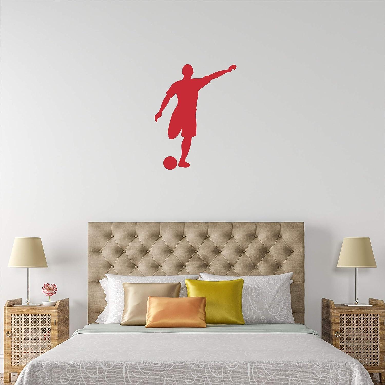 Amazon.com: Soccer Wall Sticker, Multiple Sizes, Sports Wall ...