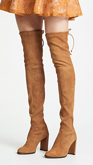 b4ad3bace5f Amazon.com  Stuart Weitzman Women s Hiline Over The Knee Boots  Shoes