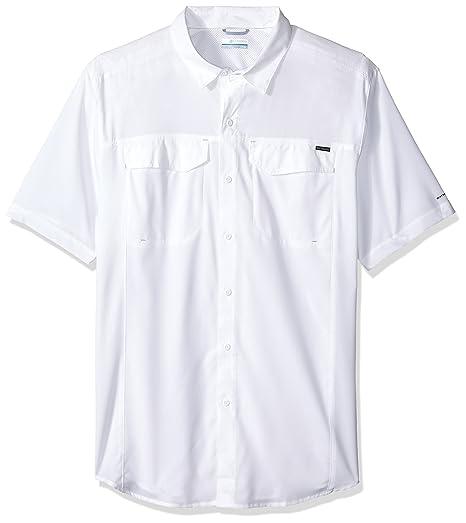 a55c9103577 Columbia Men's Big-Tall Silver Ridge Lite Short Sleeve Shirt, White, 4X:  Amazon.in: Sports, Fitness & Outdoors