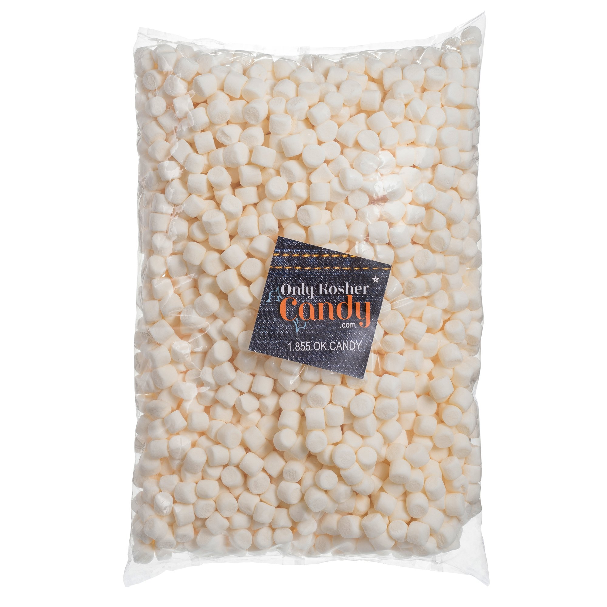 Kosher Bulk Mini Marshmallows 2.2 lbs by Only Kosher Candy (Image #1)