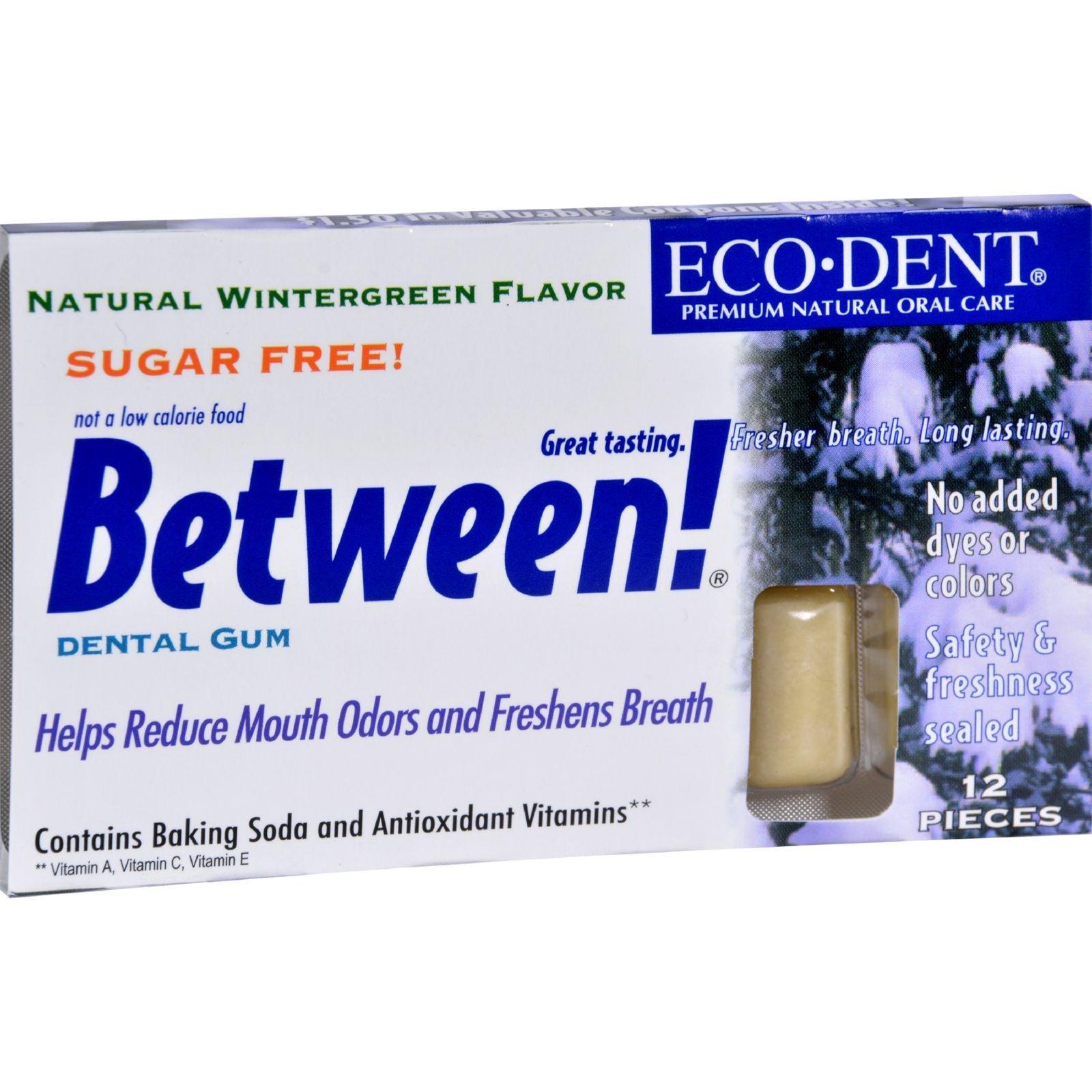 Eco-Dent Wintergreen Between Dental Gum ( 12x12 Pc)