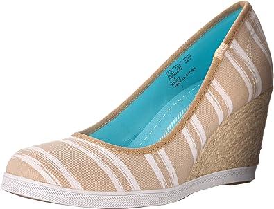 Keds Women's Damsel Sand Stripe Wedge
