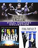 final fantasy - 3 movie collection (3 blu-ray) box set