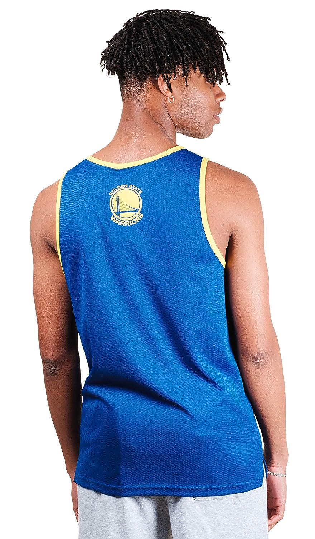 Royal NBA Golden State Wariors Ultra Game Mens POLY AIR MESH TANK W//APPLIQUE XXL