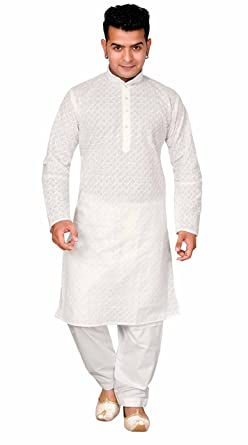 fc09c65cbf White Men's Sherwani Indian kurta salwar kameez for Bollywood theme EID &  casual wear London UK