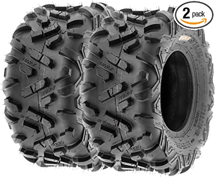 Pair of 2 SunF Power.II AT 16x8-7 ATV /& Go-Kart Off-Road Tires All-Terrain 6 PR Tubeless A051