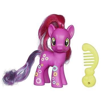 my little pony neon rainbow power cheerilee figure amazon co uk