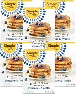 product image for Simple Mills Almond Flour Pancake Mix & Waffle Mix, Gluten Free, Made with whole foods, 6 Count (Packaging May Vary)
