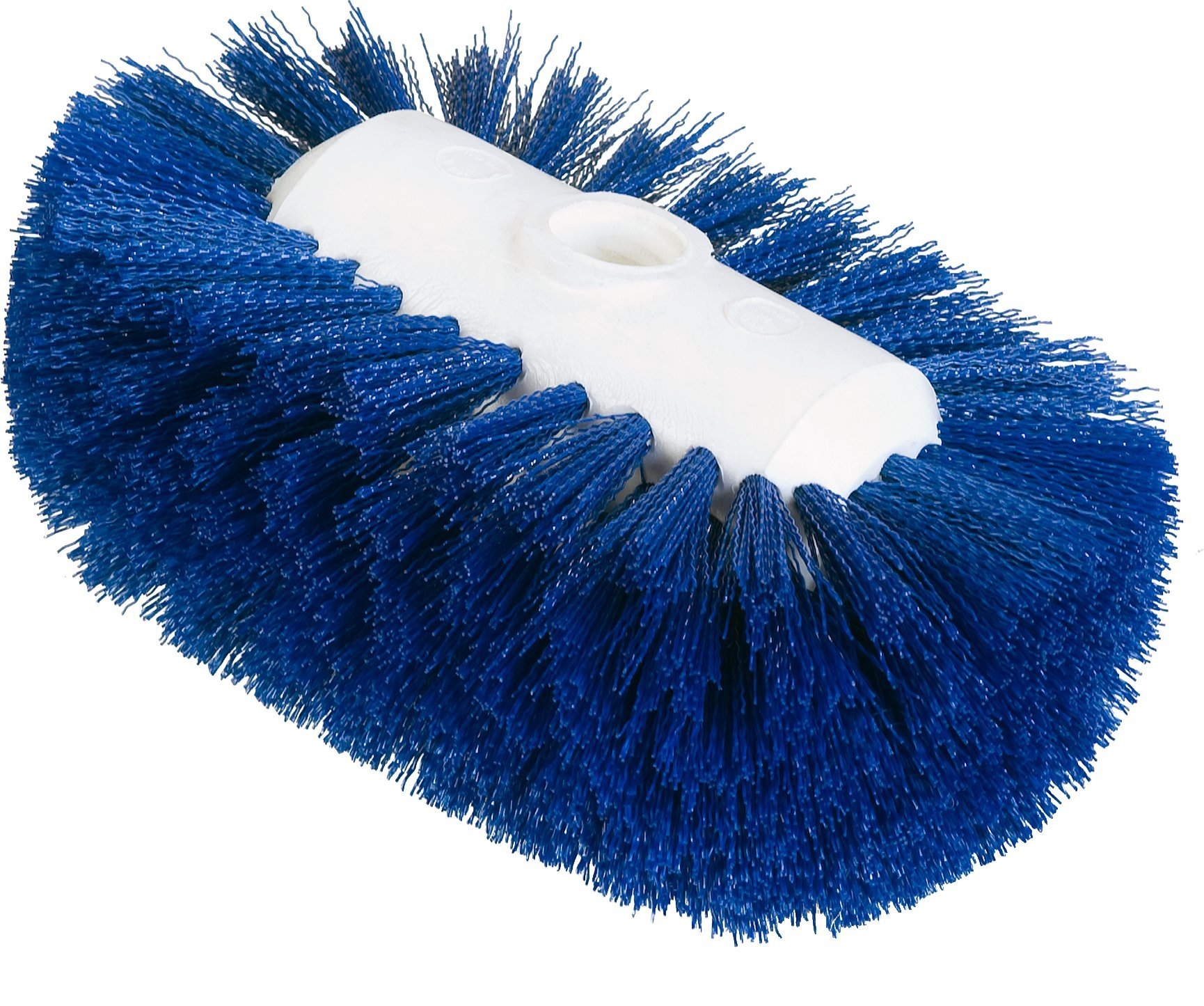 Carlisle 4004114 Sparta Spectrum Flare Head Tank and Kettle Brush, Blue Polyester Bristles, 7-1/2'' L x 5-1/2'' W (Case of 12)