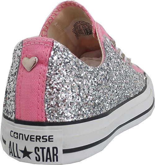 converse all star bambina glitter basse