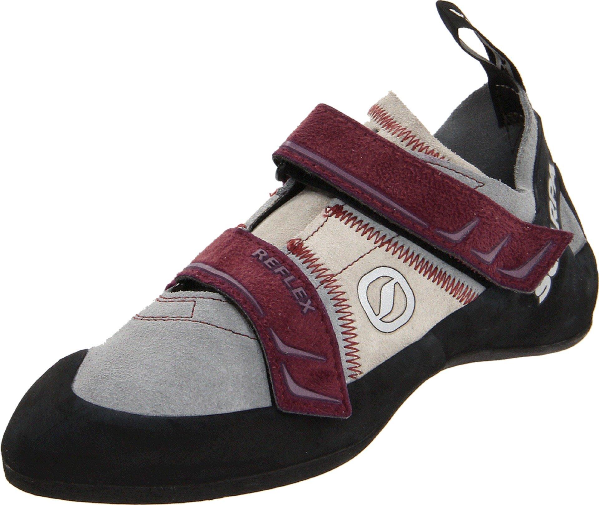 Scarpa Women's Reflex Climbing Shoe,Pewter/Plum,37.5 EU/6.5 M US