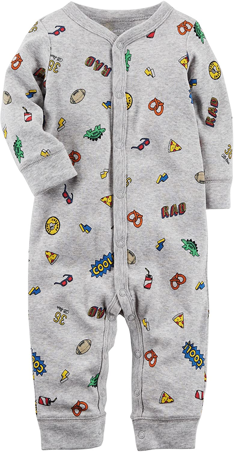 Carter's Baby Boys' Cotton Footless Sleep & Play Carters 115G240
