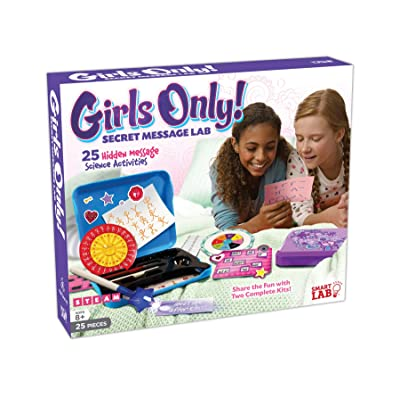 SmartLab Toys Girls Only! Secret Message Lab: Toys & Games