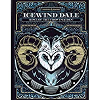 D&D Ice Wind Dale: Rime of The Frost Maiden Alternate Hard Cover